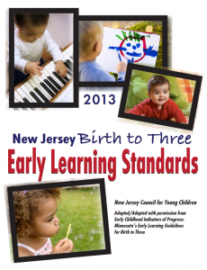 NJ Birth to Three Early Learning Standards